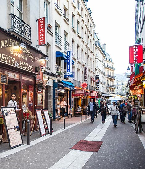 Latin Quarter of Paris