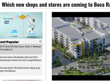 Which new shops and stores are coming to Boca Raton?